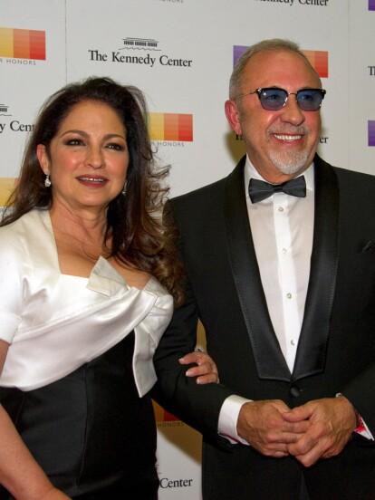 Gloria y Emilio Estefan contrajeron nupcias en 1978 y tienen dos hijos, Nayib y Emily (FOTO: The Grosby Group)