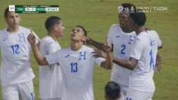 ¡Gol de Honduras! Moya vuelve a aparecer y marca el 1-0