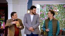 """Paul Stanley y Mauricio Mancera """"la riegan"""" en escenas de 'Mi querida herencia'. Aquí están sus mejores bloopers"""