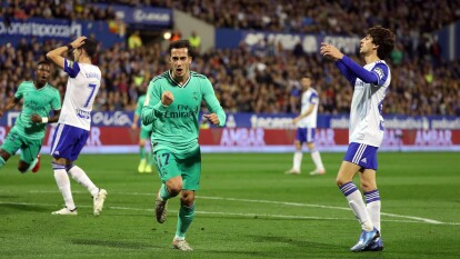 Real Madrid avanza a los Cuartos de Final tras golear a Zaragoza y ahora esperará rival para la siguiente ronda.
