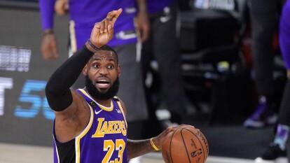 Los Lakers consiguen el título de Conferencia del Oeste | Consiguieron el pase a las Finales de la NBA tras vencer a los Denver Nuggets 117-110; esperan por Miami o Boston.