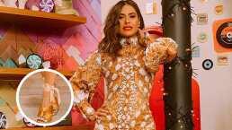 """Chica Dora"": Galilea Montijo deslumbra con elegante vestido"