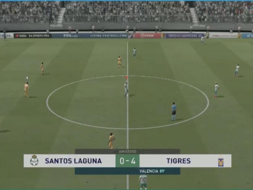 Santos vs Tigres, eLiga MX, 2.png