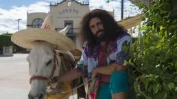 Detrás de cámaras: ¡Juancho le lleva serenata a Dulcina!