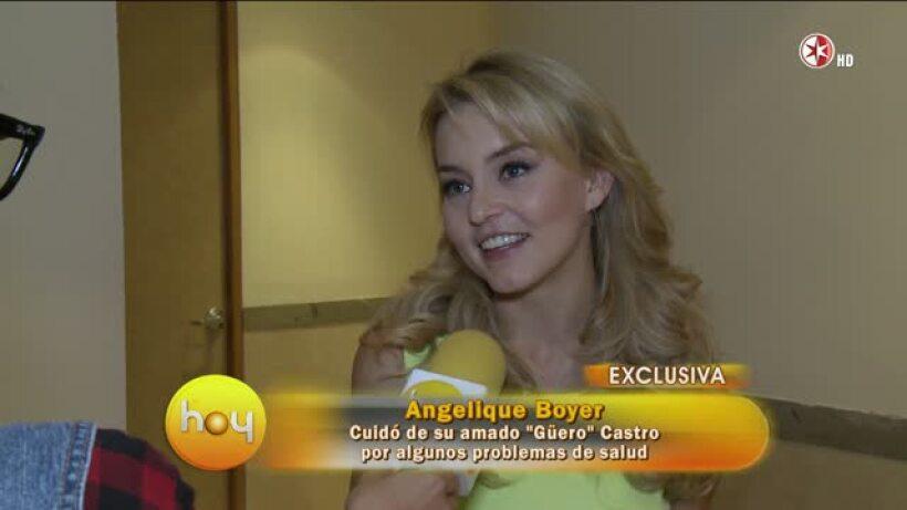 Angelique Boyer se siente feliz