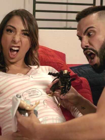 Nicole y Daniel se estrenarán como padres con este bebé.