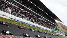A los portugueses se les olvida la sana distancia en Fórmula 1