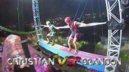 Brandon le ganó a El Sina en el reto de altura