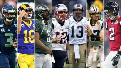 Estos fueron los seis quarterbacks titulares a los que venció Brady para alcanzar sus seis títulos Vince Lombardi.