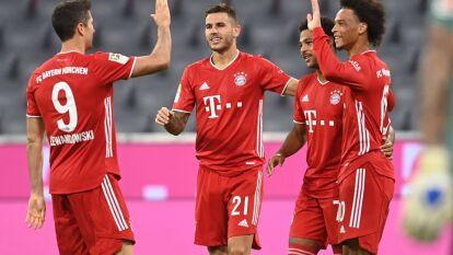 Bayern Munich le hizo 8 al Schalke en la J1 de la Bundesliga   El conjunto bávaro no tuvo piedad y defendió su título con tremenda autoridad.