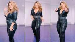Chiquis Rivera se suelta el cabello y se viste de reina al ritmo de Gloria Trevi