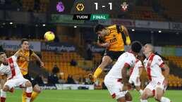 Jiménez provoca el empate de los Wolves ante Southampton