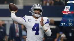 Cowboys inicia temporada con victoria sobre Giants