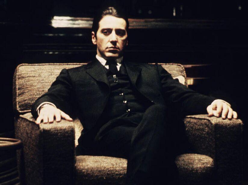 7. Michael Corleone: El mayor error profesional de Jack Nicholson fue rechazar El Padrino, se lo llevó Al Pacino.