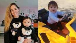 André, hijo de Sherlyn, ya maneja y lo hace en el lujoso Lamborghini que le regalaron sus abuelos