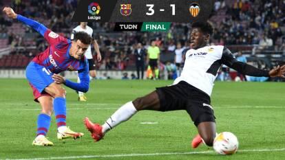 Barcelona necesitó remontar para debutar al 'Kun' Agüero