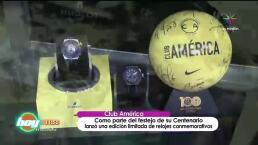 ¡Lanzan reloj conmemorativo del Centenario del Club América!