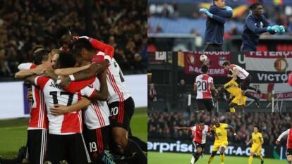 En Holanda el Feyenoord se logra imponer al Porto para sumar tres puntos y conseguir el liderato del grupo G.