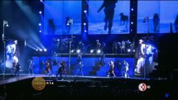 Famsos asisten al show de Michael Jackson