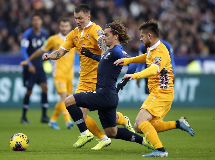 France Moldova Euro 2020 Soccer