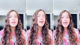Hija de Andrea Legarreta debuta en TikTok, y lo hace de la mejor manera; presumiendo su voz