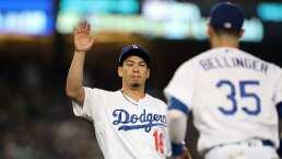 Así fue la actuación de Kenta Maeda con los Dodgers