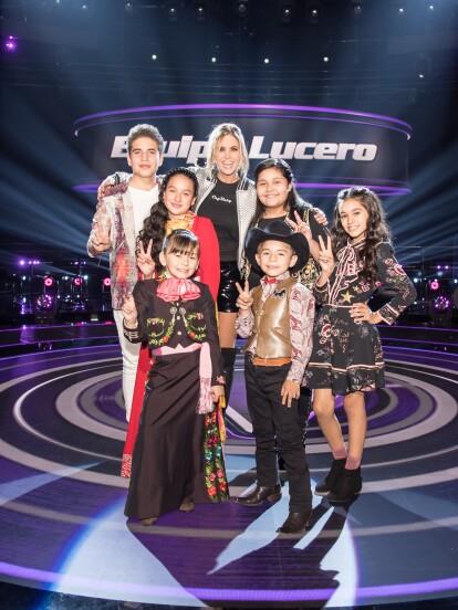 Team Lucero: Danna Lerma, Roberto Xavier, Evelyn Yuridia, María José, Daniel Orlando y Fátima Bocanegra.