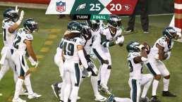 ¡Otro tropiezo en casa! 49ers pierde con Eagles por una intercepción
