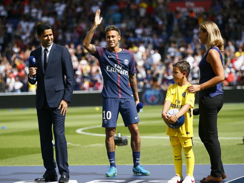 France Soccer Neymar