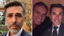 """Devastado, Sergio Mayer anuncia la muerte de Xavier Ortiz: """"Era mi hermano"""""""