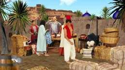 Mariazel salió como Jasmín en 'Los Cuentos de Sammy' y mandó a volar a Aladino