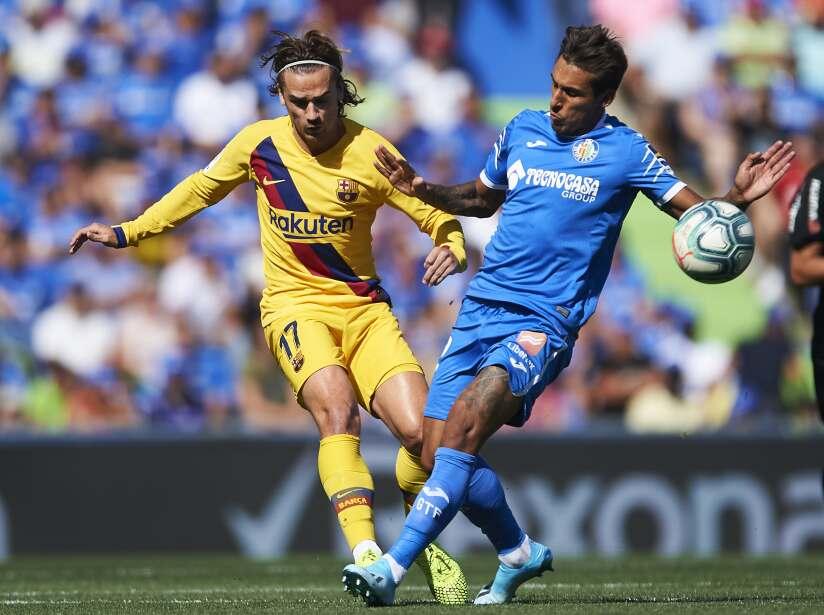 Los blaugranas visitan Getafe y con marcador de 2-0, sacan tres puntos del Estadio Alfonso Pérez.