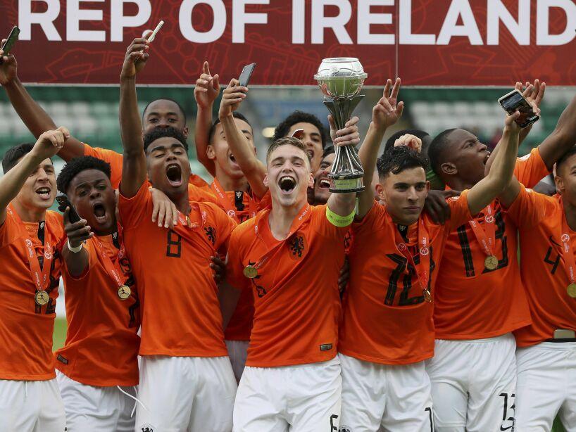 Britain Soccer European Under-17