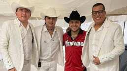Christian Nodal se presentó con gran éxito en El Kraken de Mazatlán