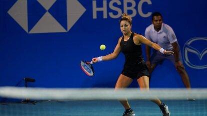 La esperanza mexicana eliminó a Sloane Stephens con parciales de 6-4 y 6-2. Renata Zarazúa ocupa el lugar 270 del ranking de la WTA, mientras que la estadounidense se ubica en la posición 35.