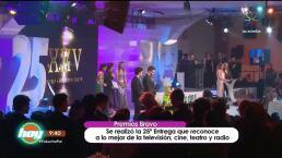López-Dórgia, Mario iván Martínez y Mía Rubí Legarreta, entre los premiados en Bravo