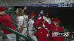 ¡Blanqueada! Los Phillies derrotan 6-0 a los Nationals