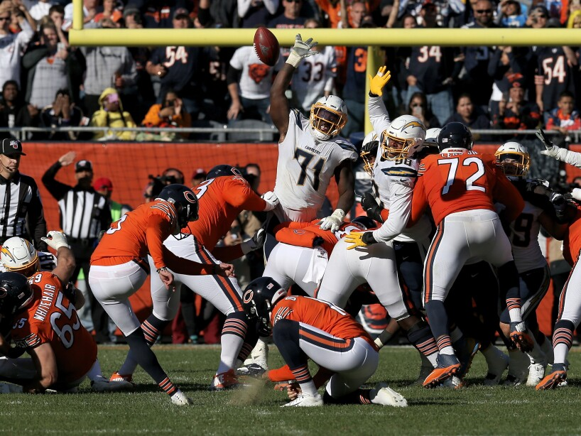 Los Angeles Chargers v Chicago Bears