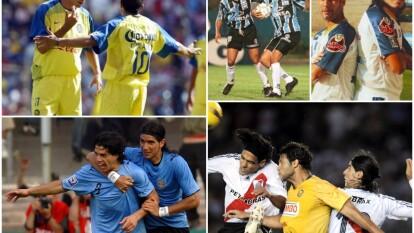 Washington Sebastián Abreu cumple 42 años este 17 de octubre y lo recordamos, además de su colección de clubes y países, por haber compartido cancha con grandes futbolistas de diversos países.