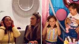 Consuelo Duval es 'desgreñada' por su hermana como las niñas del pastel: 'No pude evitarlo'