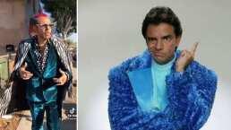 Ludovico se volvió rapero y presume elegante atuendo al estilo de Don Camerino