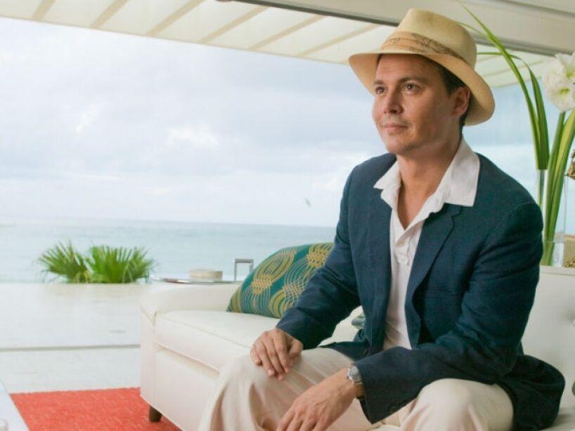 2. The Rum Diary (2011): Depp adoraba al periodista Hunter S. Thompson y eligió protagonizar la adaptación de su primera novela como Jack Kemp.