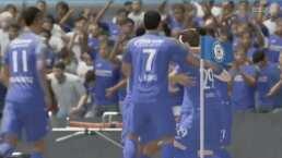 ¡Con triunfo de Cruz Azul! Los mejores goles de la eLiga MX