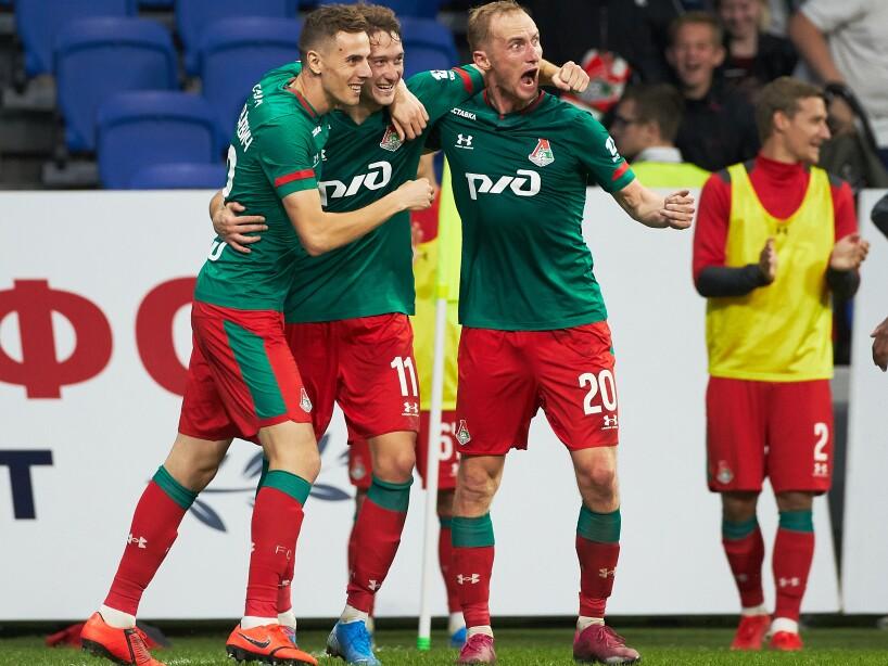 FC Dynamo Moscow vs FC Lokomotiv Moscow - Russian Premier League