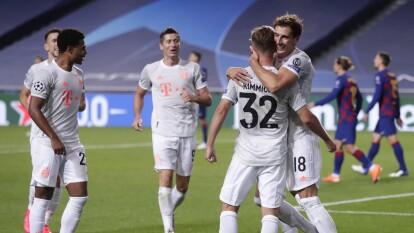 Bayern despedazó al Barcelona 8-2 en Cuartos de la Champions | El conjunto bávaro vuela por un título más de la UEFA Champions League.