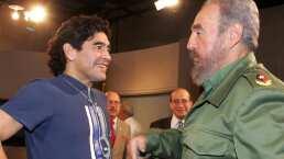 Diego Maradona murió el mismo día que su amigo Fidel Castro