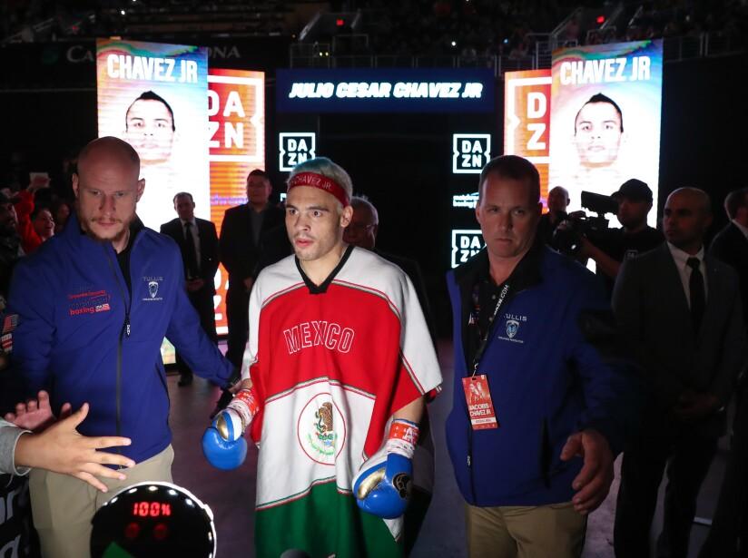 Chávez Jr y Daniel Jacobs listos para el combate.