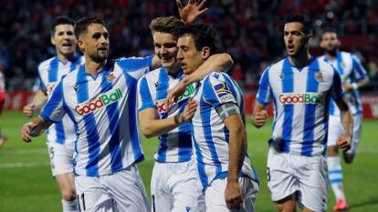 Con un gol desde los once pasos de Mikel Oyarzabal, la Real Sociedad lográ regresar a una final de Copa del Rey luego de 32 años de espera.