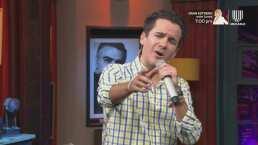 Los 'Miembros al Aire' le demuestran sus habilidades en el karaoke a Poncho Lizárraga