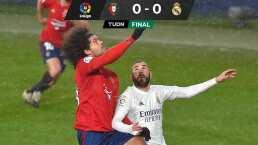 Real Madrid deja ir puntos ante el Osasuna